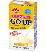 森永GO-UP 高タンパク質飲料 バナナミルク味125ml