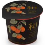 【11月19日新発売】ダノン和 Selectionほうじ茶風味 柿果肉入り2