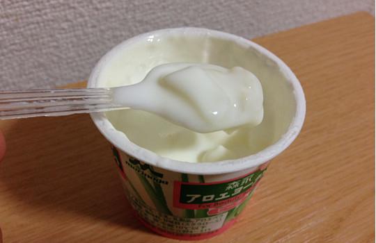 森永アロエヨーグルト・ピーチ80g×2|美容食品成分アロエステロール配合5