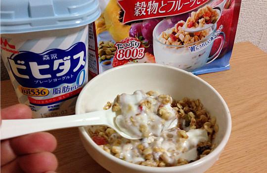 森永ビヒダスBB536プレーンヨーグルト脂肪ゼロ・無糖7