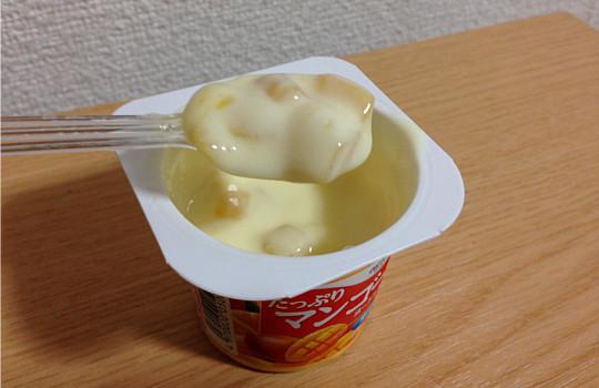 オハヨーたっぷりマンゴーヨーグルト70g×4脂肪ゼロ|L-55乳酸菌の効果5