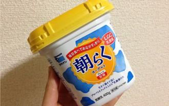 タカナシ朝らくヨーグルトプレーン加糖400g|甘みを加える手間いらず