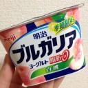 明治ブルガリアヨーグルト脂肪ゼロ~白桃180g|季節限定←食べた感想