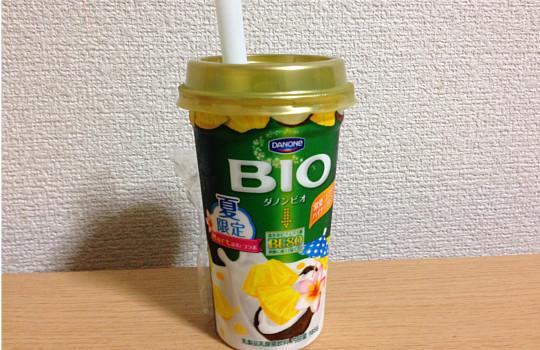 ダノンビオBE80常夏ココナッツ&パイナップルミックス185g←飲んだ感想5