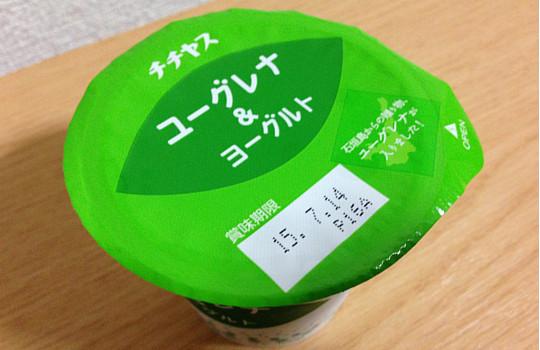 チチヤス・ユーグレナ&ヨーグルト100g(みどりむし)←効果と食べた感想2