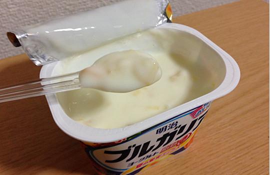 明治ブルガリアヨーグルト脂肪ゼロ180g|夏の果実ミックス←食べた感想4