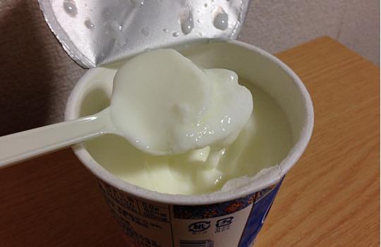 グリコおいしいカスピ海ヨーグルト脂肪ゼロ・無糖400g←食べた感想4