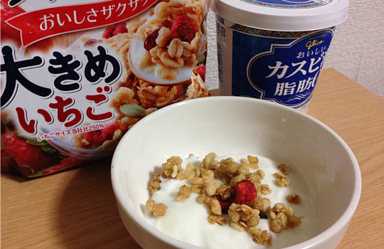 グリコおいしいカスピ海ヨーグルト脂肪ゼロ・無糖400g←食べた感想5
