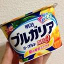 明治ブルガリアヨーグルト脂肪ゼロ180g|夏の果実ミックス←食べた感想