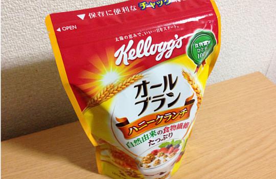 ケロッグオールブランハニークランチ180g|1食~レタス約1.7個分食物繊維2