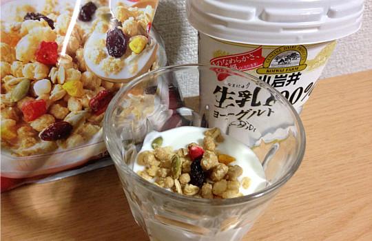 セブンイレブン・6種の彩り果実 グラノーラ(ココナッツ風味)←食べた感想4