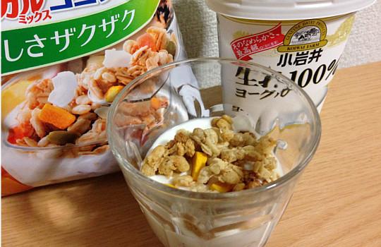 フルグラトロピカルミックスココナッツ←めっちゃ美味しいグラノーラ4