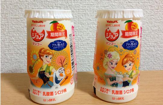ヤクルト・ジョアマンゴー|乳酸菌シロタ株の凄い効果←飲んだ感想