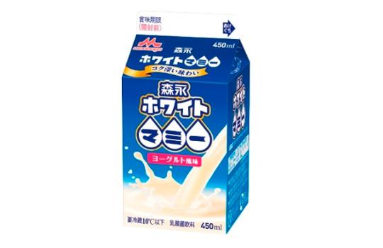 ヨーグルト風味・ミルク3倍「森永ホワイトマミー」期間限定発売