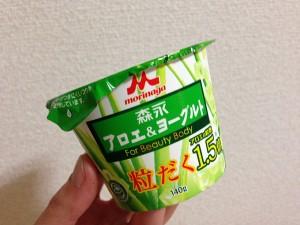 森永アロエ&ヨーグルト「粒だく1.5倍」←やっぱり、安定したおいしさ!2