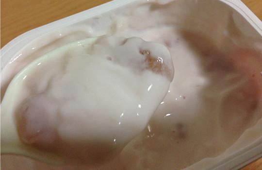 明治ブルガリアヨーグルト「脂肪ゼロ葡萄&りんご」←食べた感想5