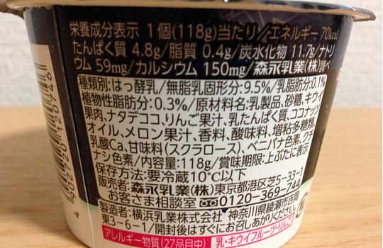 スターウォーズヨーグルト「キウイミックス118g」←食べた感想3