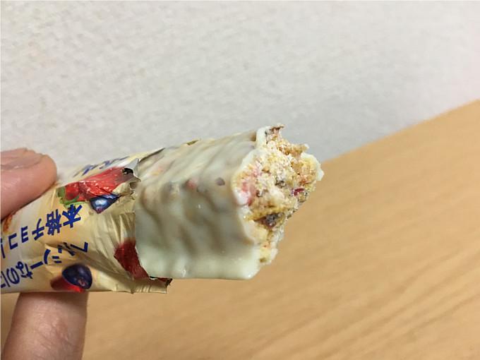 アサヒ「一本満足バーシリアルホワイト」←美味しくお腹も満足!5