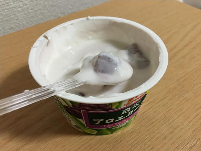 森永アロエヨーグルト「ぶどう」←中々美味しかったよ!5