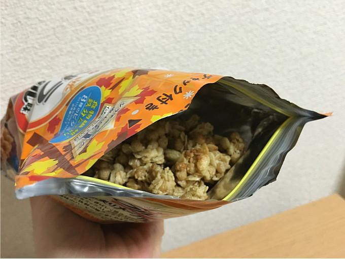 カルビーフルグラ「4種の実りメープル味」←食べてみた5