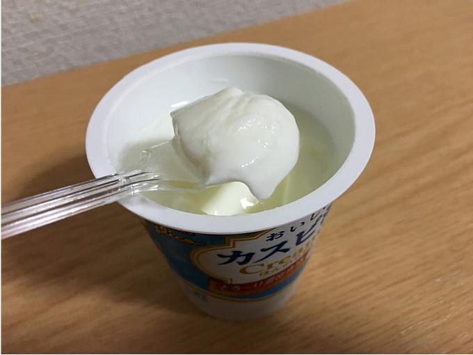 グリコ「おいしいカスピ海Creamy100g」←とろ~り食感でおいしいね!5