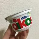 オイコス「ウィンターラズベリー」ヨーグルト←食べてみた..う~ん
