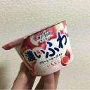 オハヨー「濃いふわクリーミーヨーグルト(いちじく)」←食べてみた