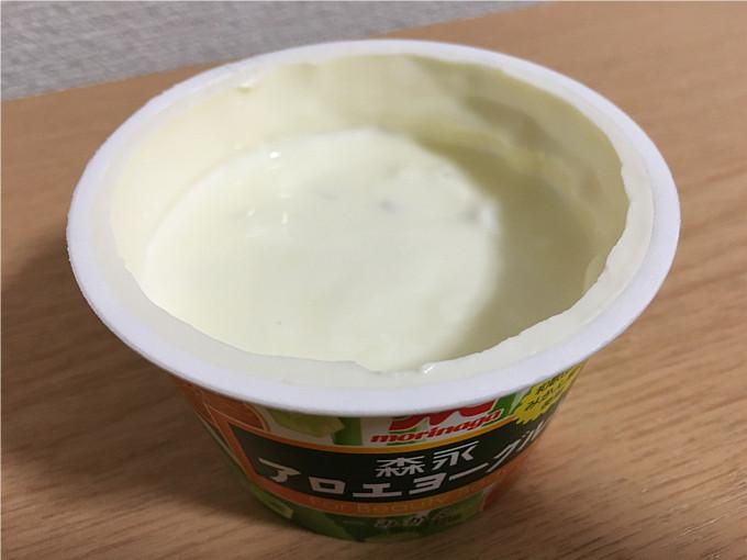 森永アロエヨーグルトみかん←食べてみた4
