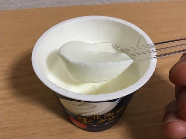 北海道生クリームヨーグルト←舌の上でとろける食感が心地いい!5