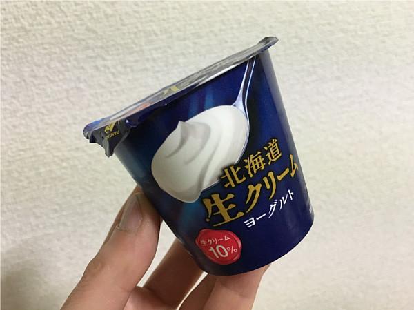 北海道生クリームヨーグルト←舌の上でとろける食感が心地いい!