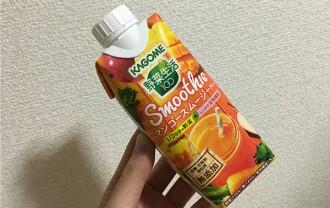 カゴメ野菜生活100「マンゴースムージーMix」←自然な甘さがいいね~!