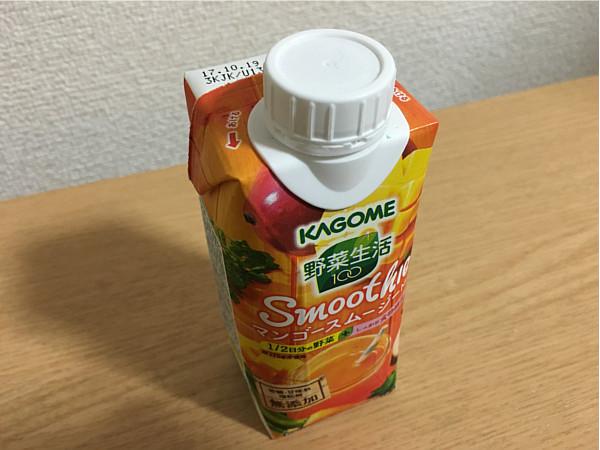 カゴメ野菜生活100「マンゴースムージーMix」←自然な甘さがいいね~!2