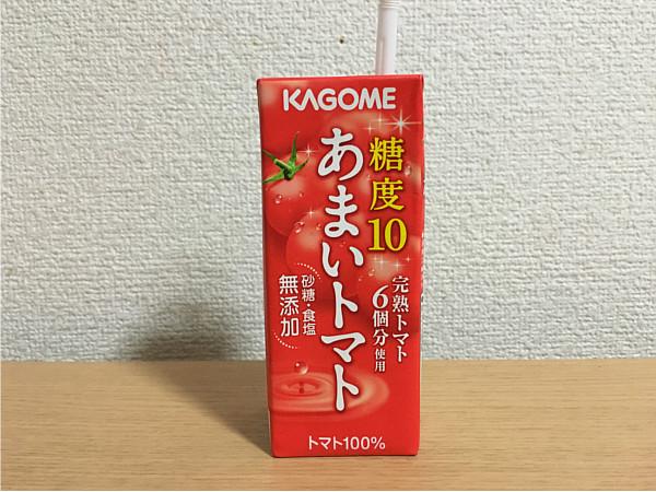 カゴメ「あまいトマト」←この自然なうまさが癖になるかも!5