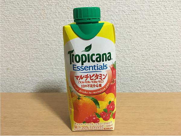 トロピカーナエッセンシャルズ「マルチビタミン(オレンジブレンド)」←飲んでみました5