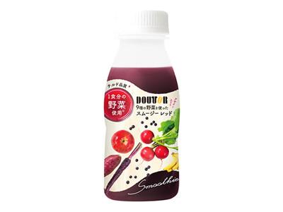彩り豊かな~ドトール「スムージーレッド」←7月4日~新発売!
