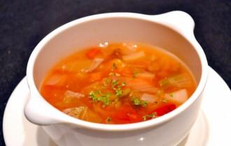 高タンパクヨーグルトのパルテノともち麦の冷製スープで便秘知らずです!2
