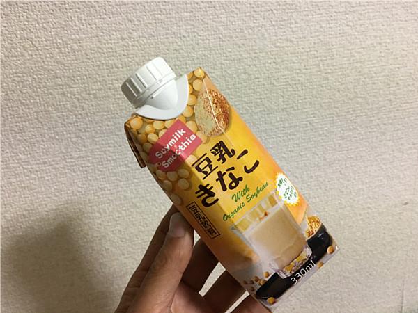 第5位:めいらく「豆乳きなこ(ソイミルクスムージー)」