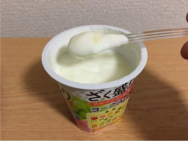 森永「ざく盛りフルーツヨーグルト」食べてみた6