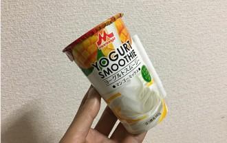 ヨーグルトスムージーマンゴーミックス飲んでみた