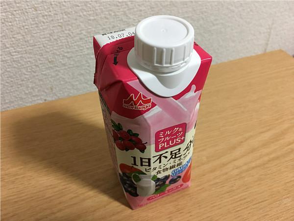 ミルク&フルーツPLUS+1日不足分のビタミン・ミネラル食物繊維ベリーミックス2