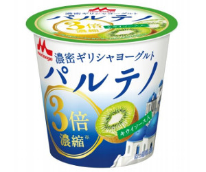 【7月31日新発売】森永パルテノヨーグルトキウイソース入り←とっても楽しみです!