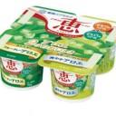 【8月28日新発売】雪印 ナチュレ恵アロエ2つのおいしさ70g×4