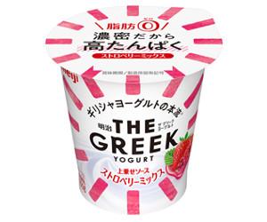 【9月11日新発売】明治THE GREEK YOGURTストロベリーミックス