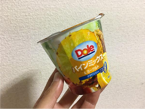 ドール「パインミックス&ヨーグルト(ナタデココ)」食べてみました