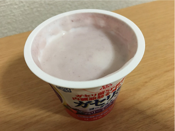 恵ガセリ菌SP株ヨーグルトベリーミックス←食べやすくていいかもですね!5