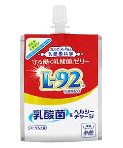 【9月25日新発売】守る働く乳酸菌ゼリー(L-92) 口栓付パウチ180g