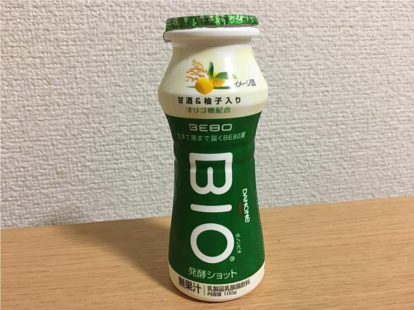 ダノンビオドリンク甘酒&柚子入り←美味し~い!?応援したヨーグルトです!4