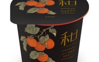 【11月19日新発売】ダノン和 Selectionほうじ茶風味 柿果肉入り