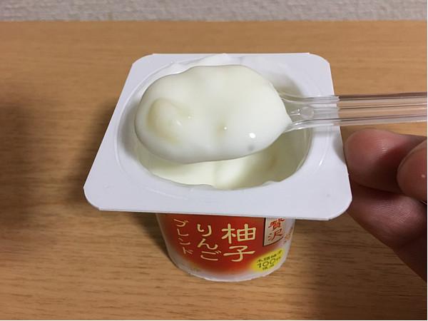 ダノンビオ「柚子りんごブレンド」←朝に食べたいヨーグルトかな!7