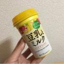 森永「豆乳とミルク バナナミックス」←豆乳飲料バナナとカロリー・成分比較してみた!